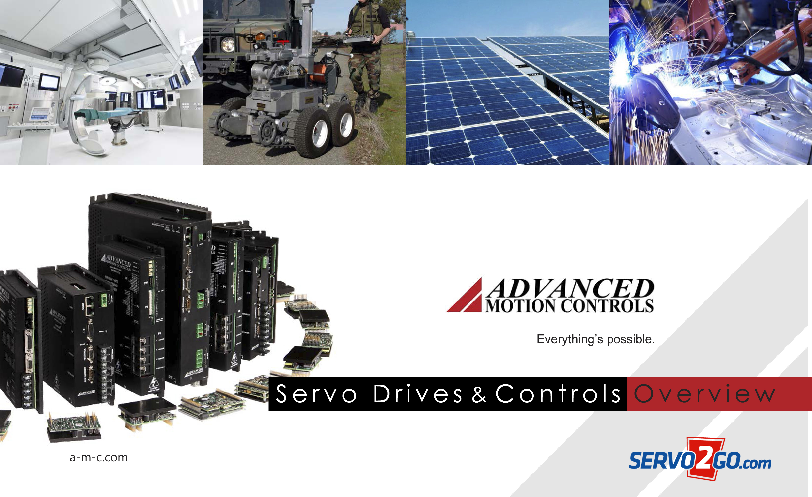 motion control servo drives from servo2Go