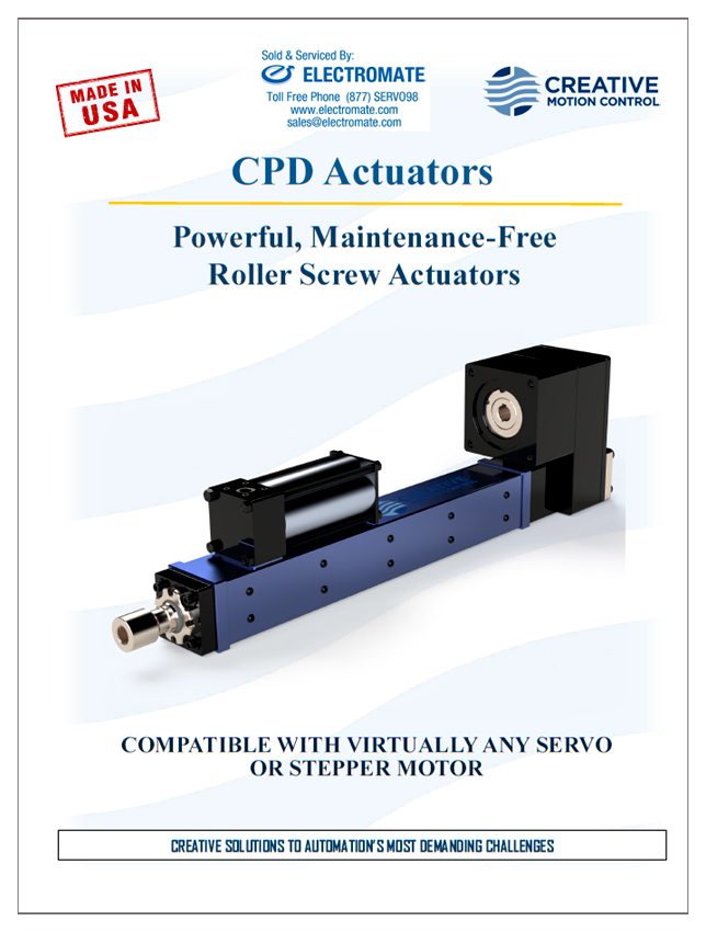 Motion Control Catalog - CPD Actuators